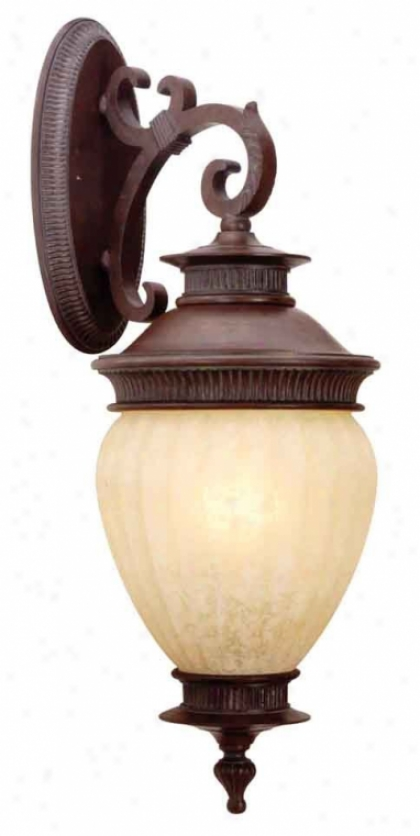 7817-20 - Intenational Lighting - 7817-20 > Outdoor Wall Sconce
