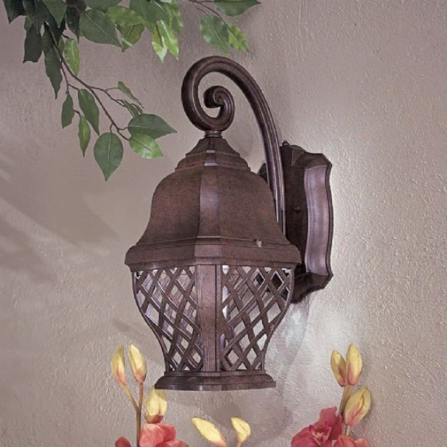 8011-91-pl - The Great Outdoors - 8011-991-pl > Outdoor Wall Sconce