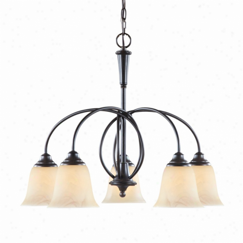 8013-d5-pc - Golden Lighting - 8013-d5-pc > Chandeliers