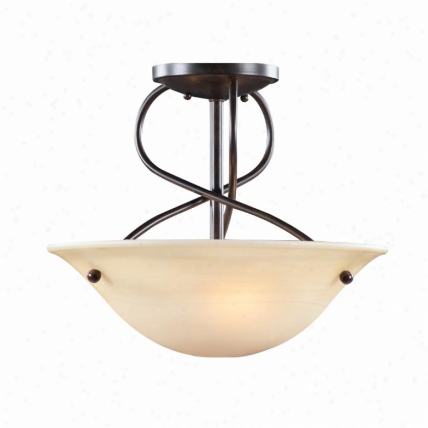 8013-sf-pc - Golden Lighting - 8013-sf-pc > Semi Flush Mount