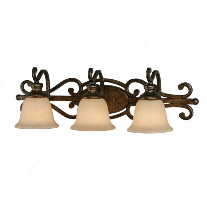 8063-ba3bus - Golden Lighting - 8063-ba3bus > Bath And Vanity Lighting