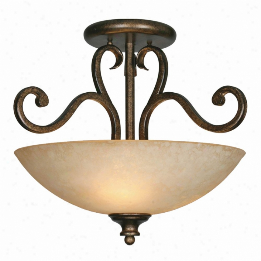 8063-sfbus - Golden Lighting - 8063-sfbus > Semi Flush Mount