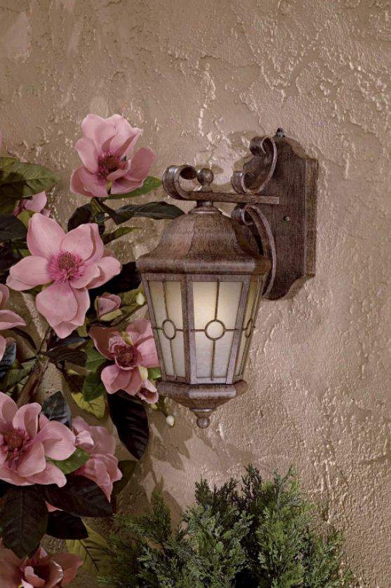 8212-61-pl - The Great Outdoirs - 8212-61-pl > Outdoor Wall Sconce