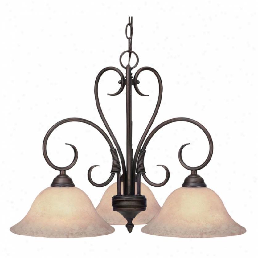8606-nd3rbz - Golden Lighting - 8606-nd3rbz > Chandeliers