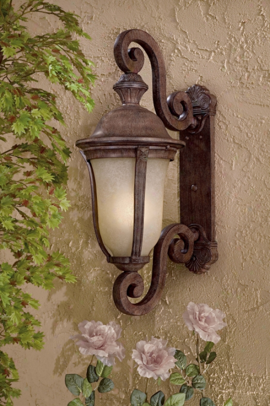8992-61-pl - The Great Outdoors - 8992-61-pl > uOtdoor Wall Sconce