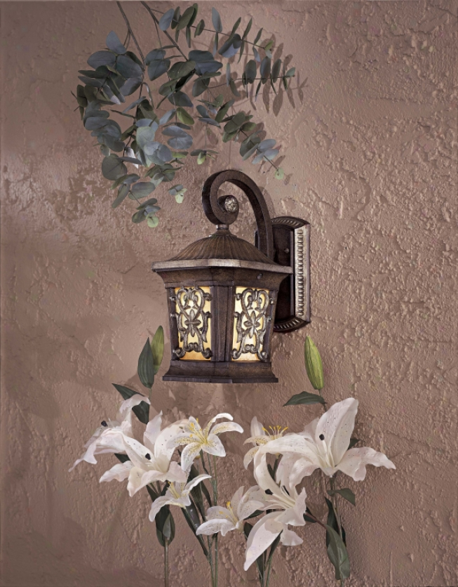 9110-198b-pl - The Great Outdoors - 9110-198b-pl > Outdoor Wall Sconce