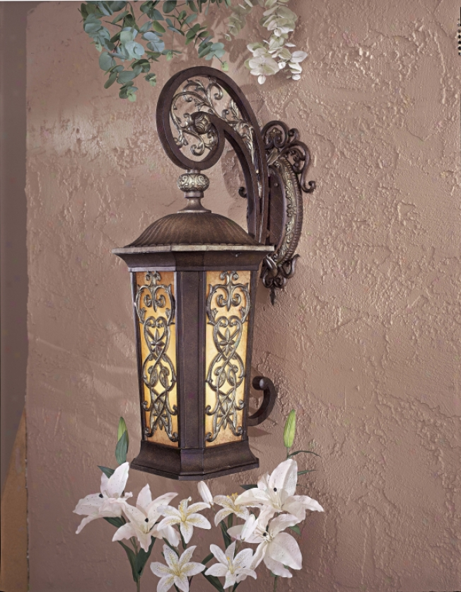 9113-198b-pl - The Great Outdoors - 9113-198b-pl > Outdoor Wall Sconce