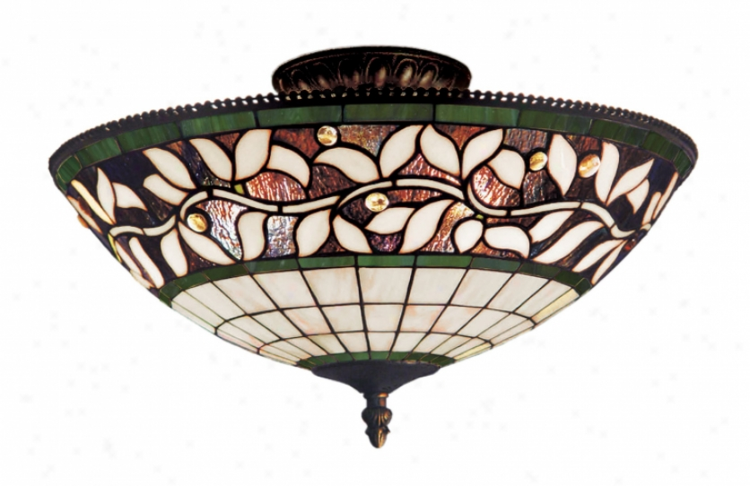 933-tb - Landmark Lighting - 933-tb > Semi Flush Mount