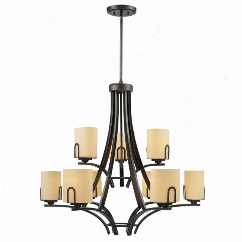 9363-9-gmt - Golden Lighting - 9363-9-gmt > Chandeliers
