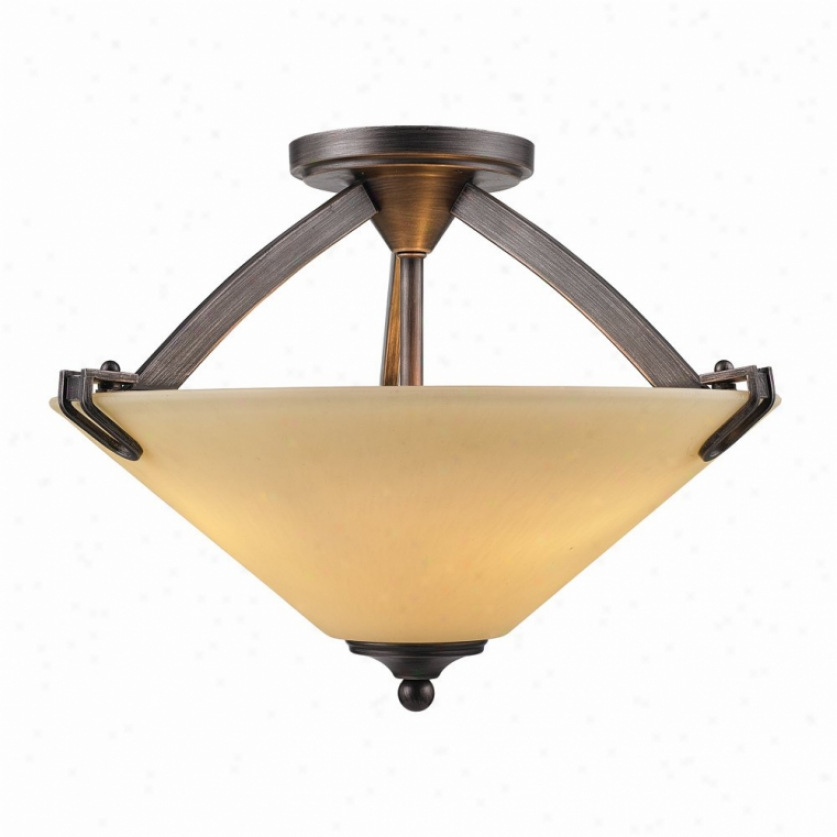 9363-sf-gmt - Golden Lighting - 9363-sf-gmt > Semi Flush Mount
