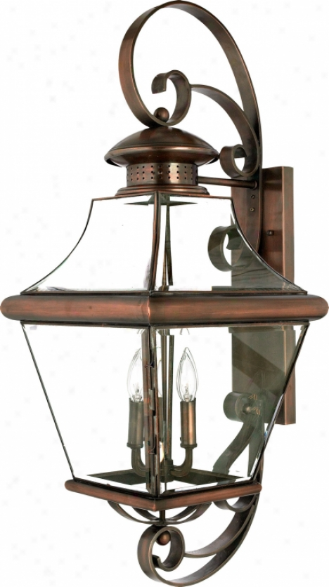 Car8414ac - Quoizel - Car8414ac > Outdoor Wall Sconce