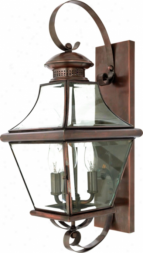 Car8729ac - Quoizel - Car8729ac > Outdoor Wall Sconce