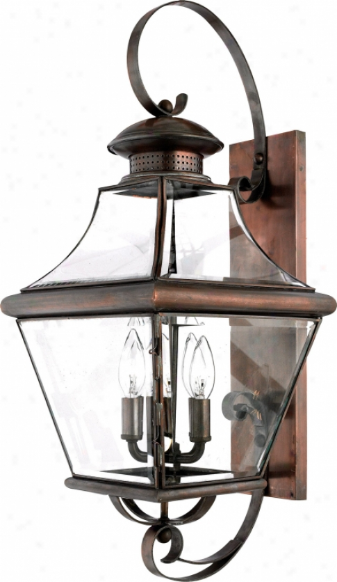 Car8730ac - Quoizel - Car8730ac > Outdoor Wall Sconce