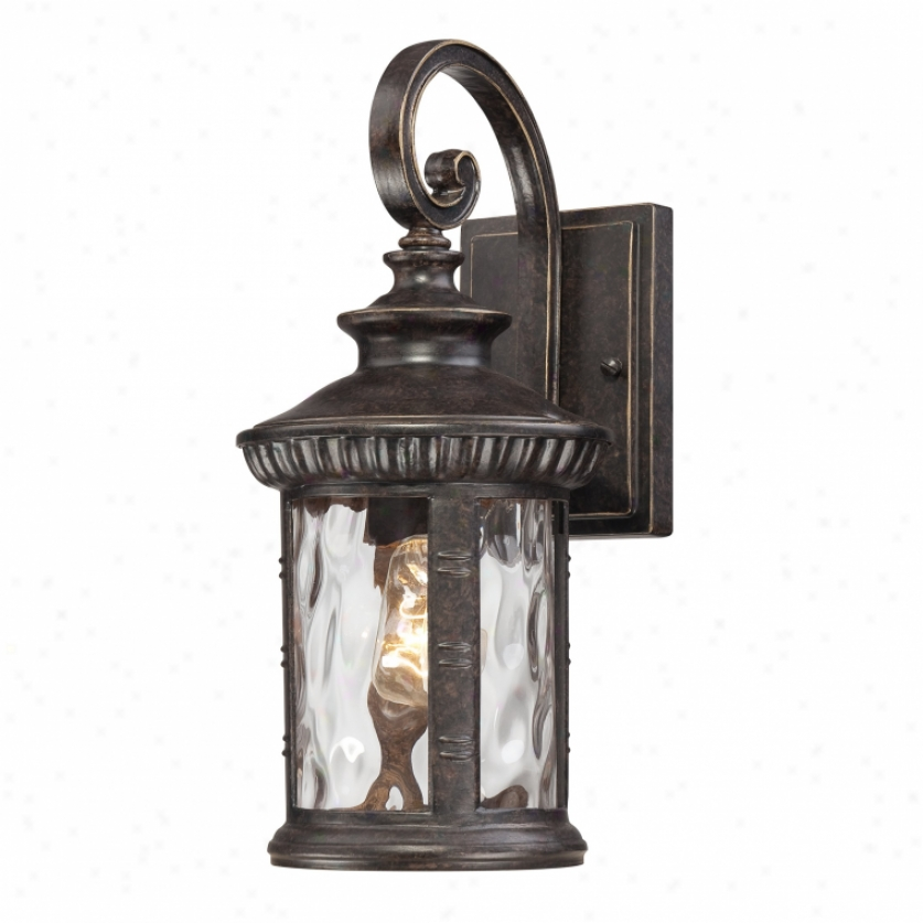 Chi8407ib - Quoizel - Chi8407ib > Outdoor Wall Sconce