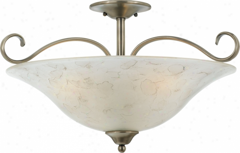 Dh1722an - Quoizel - Dh1722an > Semi Flush Mount