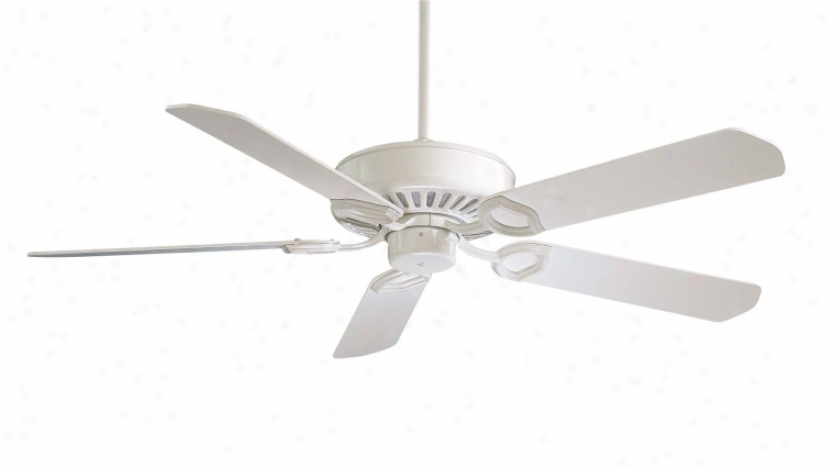 F588-sp-wh - Minka Aire - F588-sp-wh > Ceiling Fans