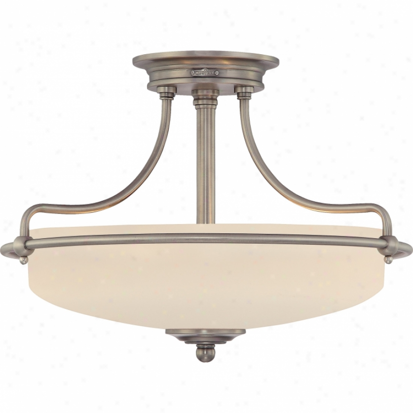 Gf1717an - Quoizel - Gf717an > Semi Flush Mount