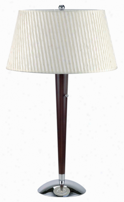 Ls-2010c/cherry - Lite Source - Ls-2010c/cherry > Table Lamps