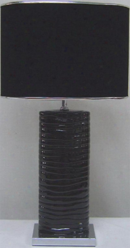 Ls-21281blk - Flower Source - Ls-21281blk > Table Lamps