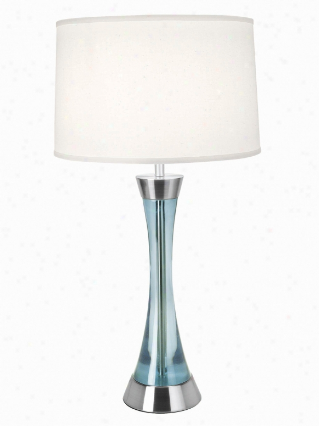 Ls-2766ps/blu - Flower Source - Ls-2766ps/blu > Table Lamps
