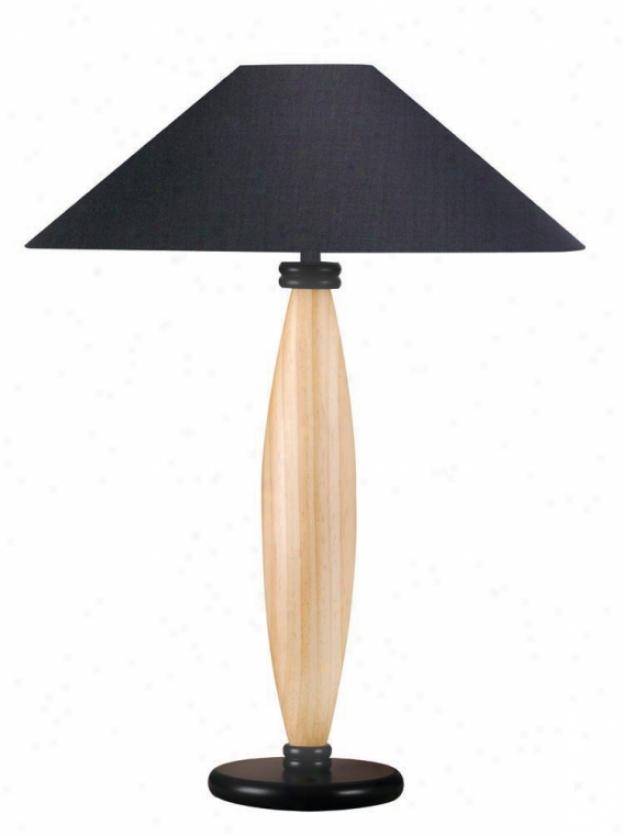 Ls-3321lnat/blk - Lite Source - Ls-3321lnat/blk > Table Lamps
