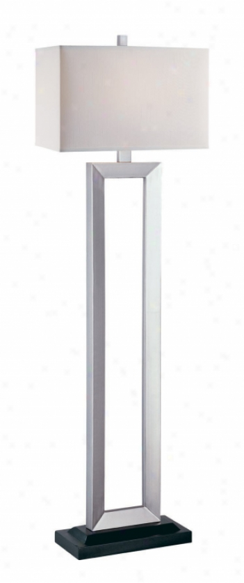 Ls-80822sil/wht - Lite Source - Ls-80822sil/wht > Floor Lamps