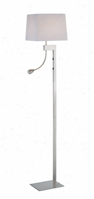 Ls-81016ps/wht - Lite Source - Ls-81016ps/wht > Floor Lamps
