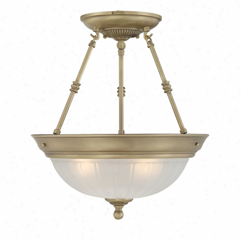 Ml1715a - Quoizel - Ml1715s > Semi Flush Mount