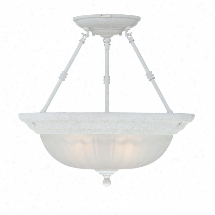Ml1718w - Quoizel - Ml1718w > Semi Flush Mount