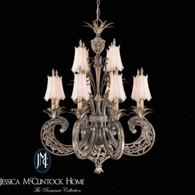 N6018-198 - Jessica Mcclintock Home - N6018-198 > Chandeliers