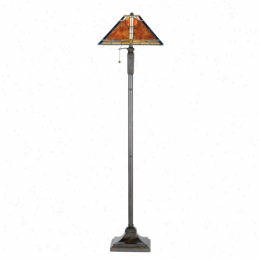 Nx615fva-  Quoizel - Nx615fva > Tiffany Style Floor Lamps