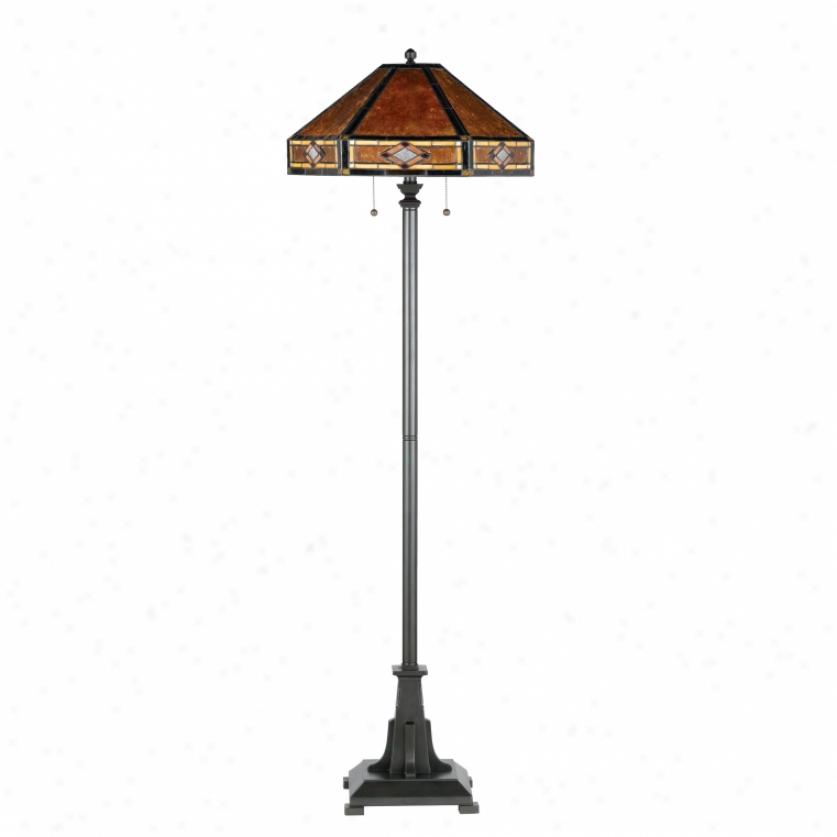 Nx627fvb - Quoizel - Nx627fv6 > Tiffany Style Floor Lamps