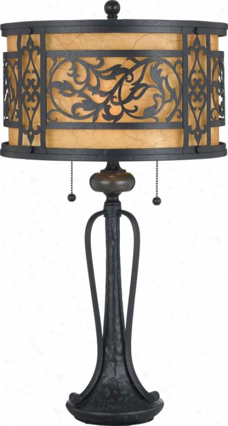 Q704tk - Quoizel - Q704k > Table Lamps