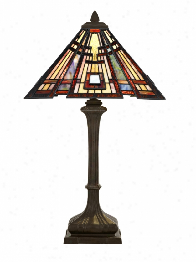 Tf124tva - Quoizel - Tf124tva > Tiffany Style Table Lamps