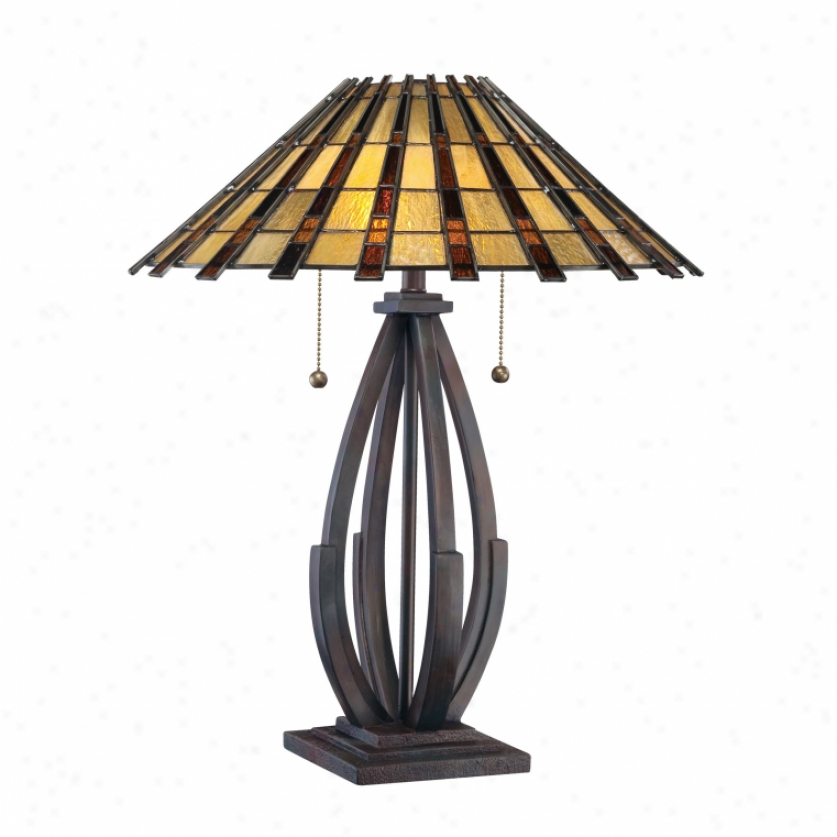 Tf1258tva - Quoizel - Tf1258tva > Table Lamps