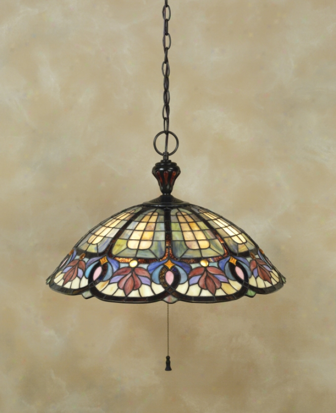 Tf1618vb - Quoizel - Tf1618vb > Tiffany Style Pendants