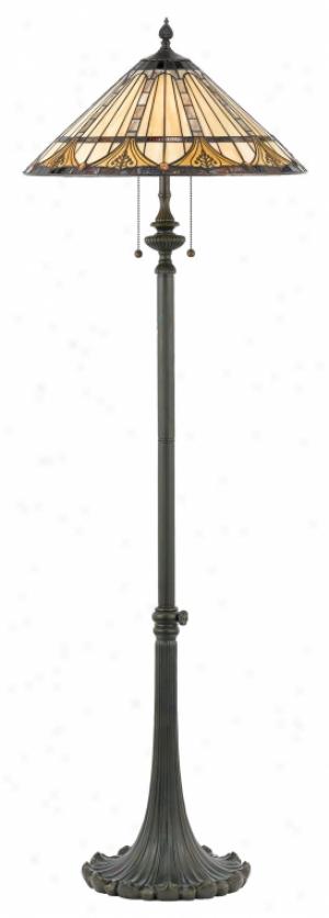 Tf482f - Quoizel - Tf482f > Tiffany Style Floor Lamps