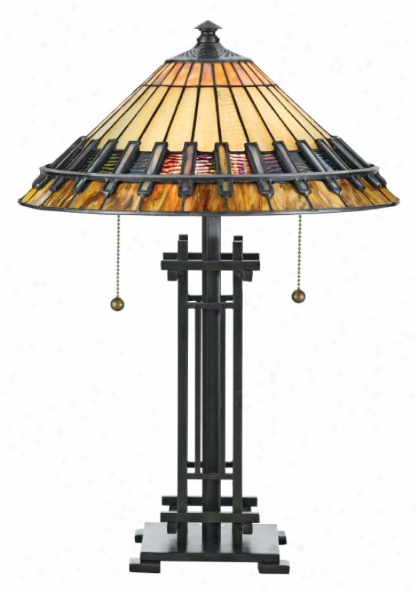 Tf489t - Quoiizel - Tf489t > Tiffany Style Table Lamps