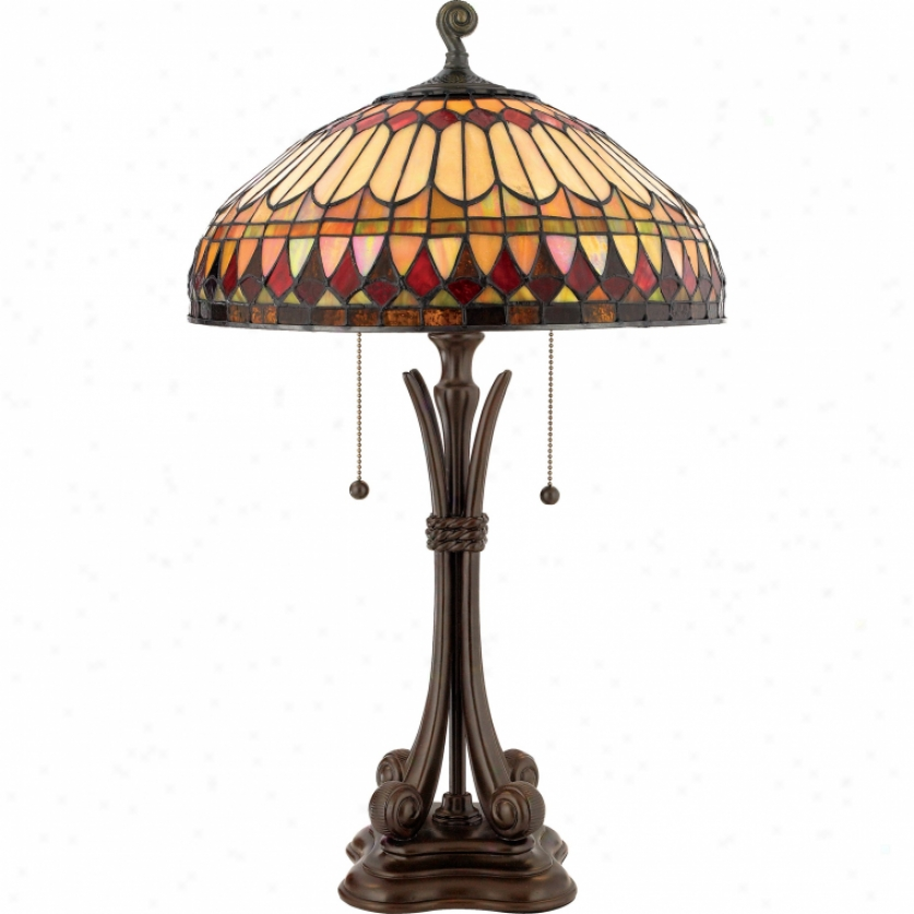 Tf6660bb - Quoizel - Tf6660bb > Tiffany Style Table Lamps