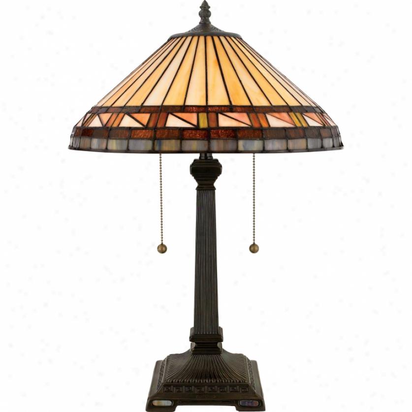 Tf6663vb - Quoizel - Tf6663vb > Tiffany Style Table Lamps