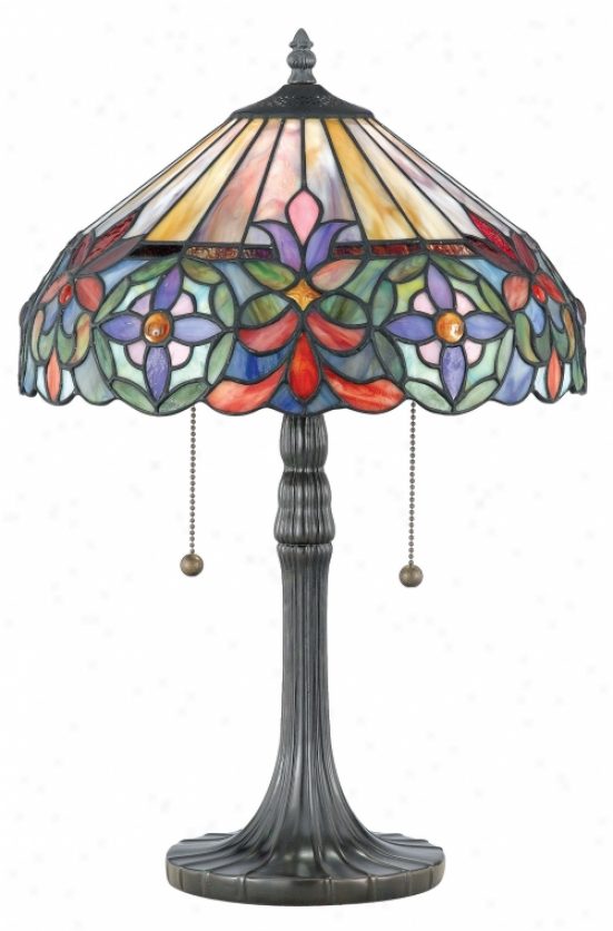 Tf6826vb - Quoizel - Tf6826vb > Tiffany Style Table Lamps