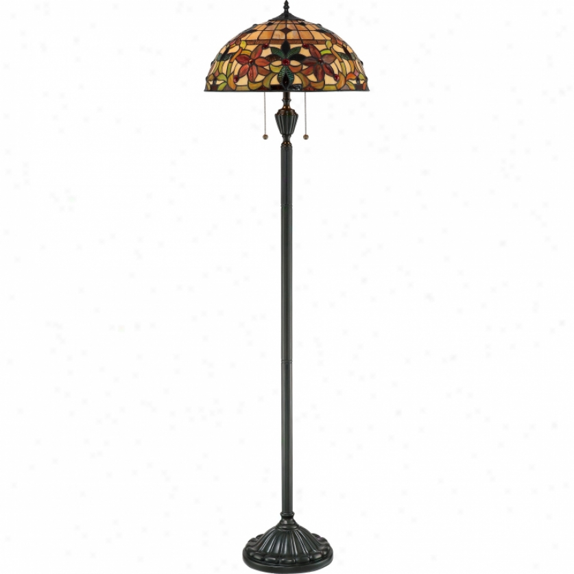 Tf878f - Quoizel - Tf878f > Tiffany Style Floor Lamps