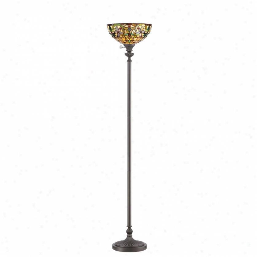 Tf878uvb - Quoizel - Tf878uvb > Tiffany Style Torchiere Lamps