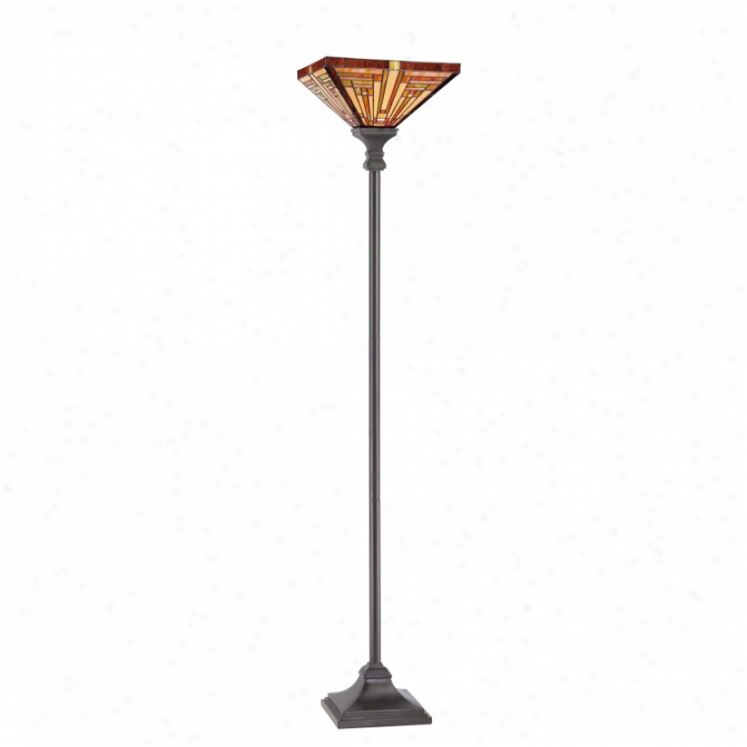 Tf885uvb - Quoizel - Tf885uvb > Tiffany Style Torchiere Lamps