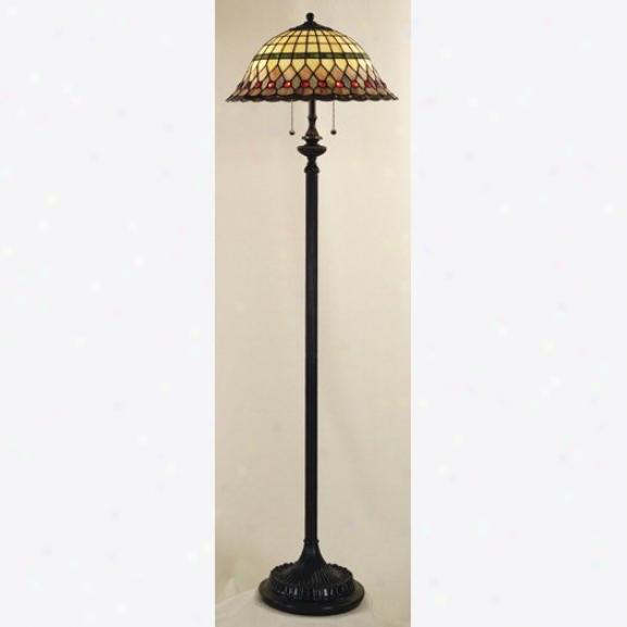 Tf9299vb - Quoizel - Tf9299vb > Tiffany Styl eFloor Lamps