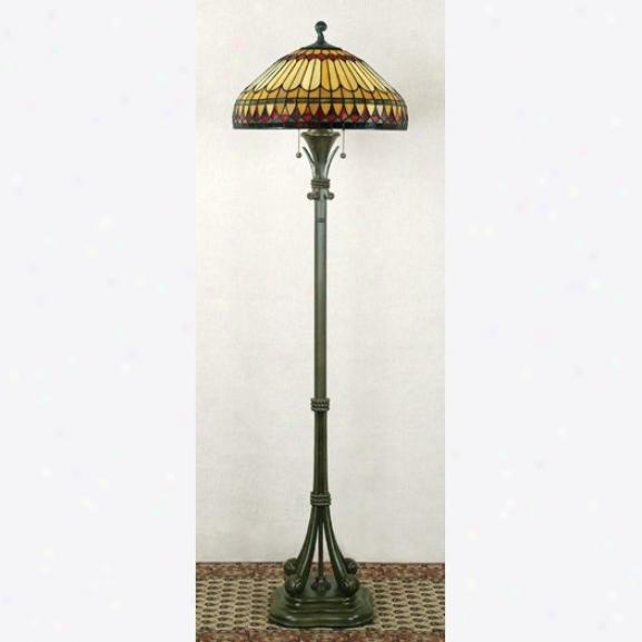 Tf9320bb - Quoizel - Tf9320bb > Tiffany Style Floor Lamps