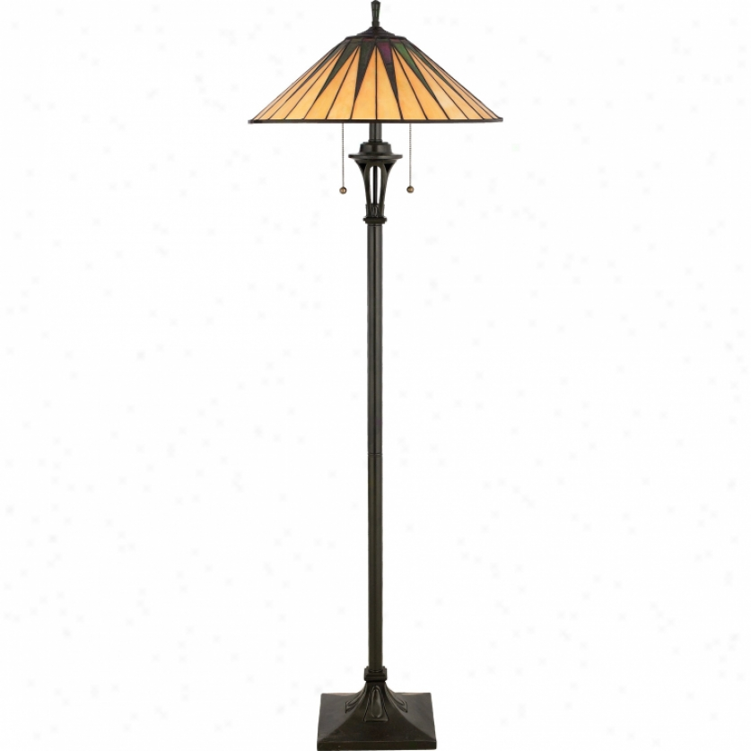 Tf9397vb - Quoizel - Tf9397vb > Tiffany Style Floor Lamps
