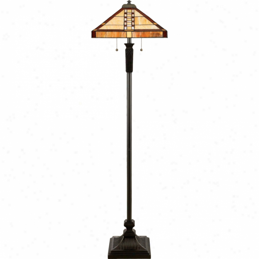 Tf9406vb - Quoizel - Tf9406vb > Tiffany Denominate Floor Lamps
