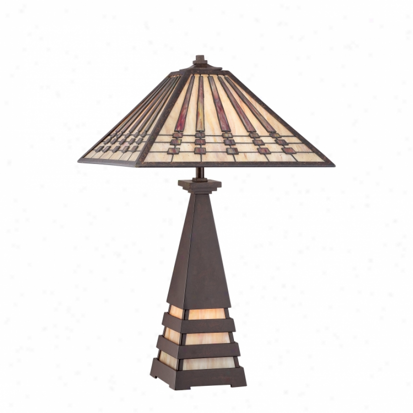 Tf988t - Quoizel - Tf988t > Tiffany Style Table Lamps