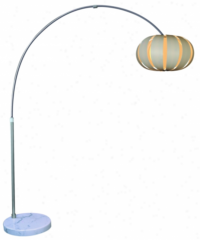 "Tfa3976-w - Trend Lighting - Tfa3976-w > ""pique"" Arc Overthrow Lamp"